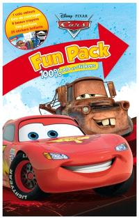 Cars : fun pack 100 % colo et stickers