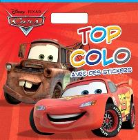 Cars : top colo avec des stickers