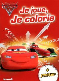 Cars 2 : je joue, je colorie