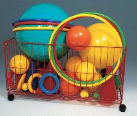 Chariot porte-ballons