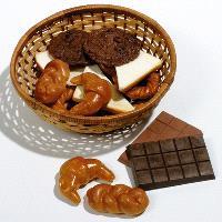 Chocolat et minipains