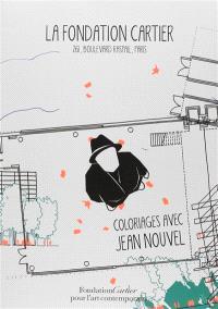 Coloriages avec Jean Nouvel