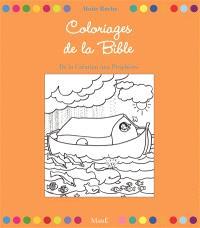 Coloriages de la Bible : de la Création aux prophètes