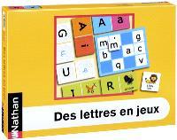 Des lettres en jeux