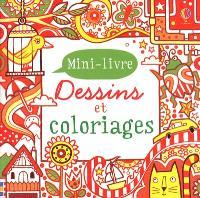 Dessins et coloriages : mini-livre : rouge