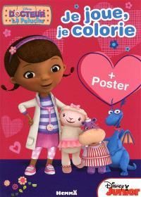 Docteur La Peluche : je joue, je colorie