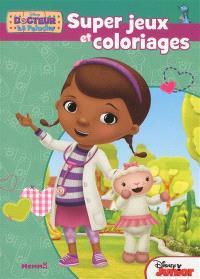 Docteur La Peluche : super jeux et coloriages