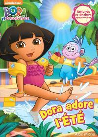 Dora adore l'été : activités et stickers repositionnables