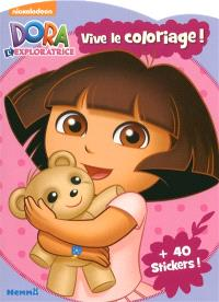 Dora l'exploratrice : vive le coloriage !
