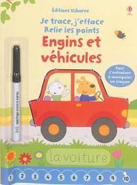 Engins et véhicules : je trace, j'efface, relie les points