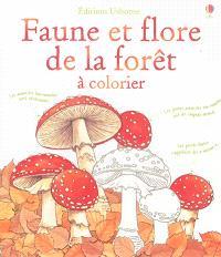 Faune et flore de la forêt : à colorier