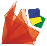 Foulards colorés