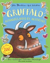 Gruffalo : autocollants et activités