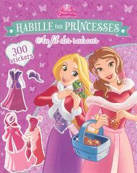 Habille tes princesses au fil des saisons : 300 stickers