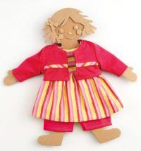 Habits de poupées : ensemble robe PM