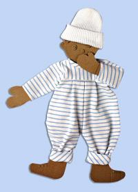 Habits de poupées : pyjama GM