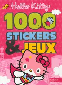 Hello Kitty : 1.000 stickers & jeux