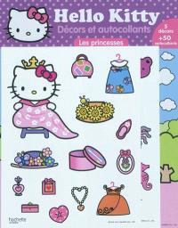 Hello Kitty : décors et autocollants : les princesses