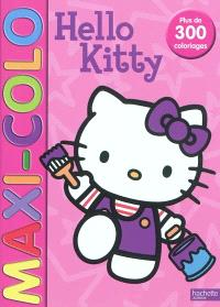 Hello Kitty : maxi-colo : plus de 300 coloriages