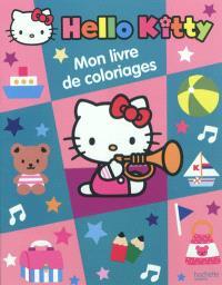 Hello Kitty, mon livre de coloriages