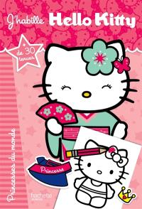 J'habille Hello Kitty, Princesses du monde