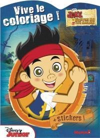 Jake et les pirates du pays imaginaire : + stickers!