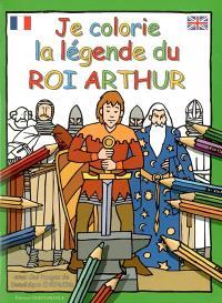 Je colorie la légende du roi Arthur