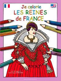 Je colorie les reines de France