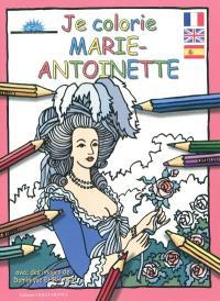 Je colorie Marie-Antoinette