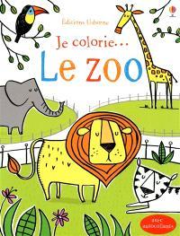 Je colorie... le zoo