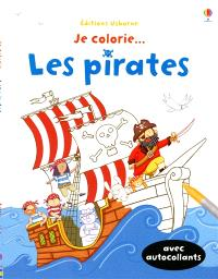 Je colorie... les pirates