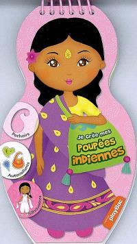 Je crée mes poupées indiennes