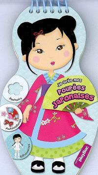 Je crée mes poupées japonaises