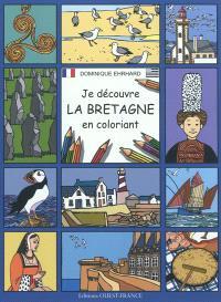 Je découvre la Bretagne en coloriant