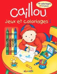 Jeux et coloriages. Volume 1