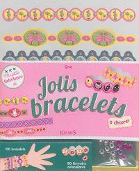 Jolis bracelets à décorer