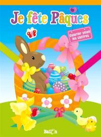 Joyeuse Pâques : colorier selon les chiffres