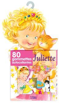 Juliette : 80 gommettes autocollantes