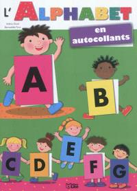 L'alphabet en autocollants : enfants
