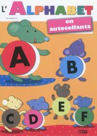 L'alphabet en autocollants : souris