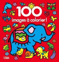 L'éléphant : 100 images à colorier