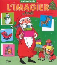 L'imagier de Noël : autocollants