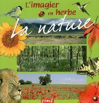 L'imagier en herbe : la nature