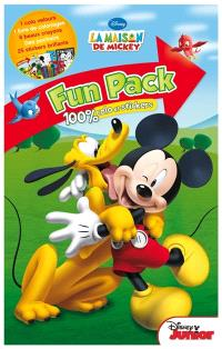 La maison de Mickey : fun pack 100 % colo et stickers