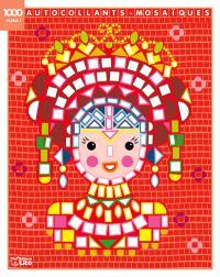 La princesse : 1.000 autocollants-mosaïques et plus !