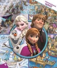 La reine des neiges : cherche et trouve géant