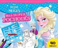 La reine des neiges : mes super pochoirs : Anna, Else
