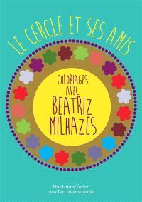 Le cercle et ses amis : coloriages avec Beatriz Milhazes
