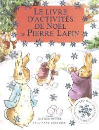 Le livre d'activités de Noël de Pierre Lapin