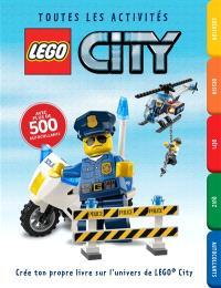 Lego City : le carnet de jeux